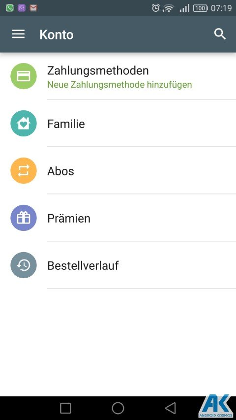 AndroidKosmos | Play Store: Family Library und neue Kategorien 5