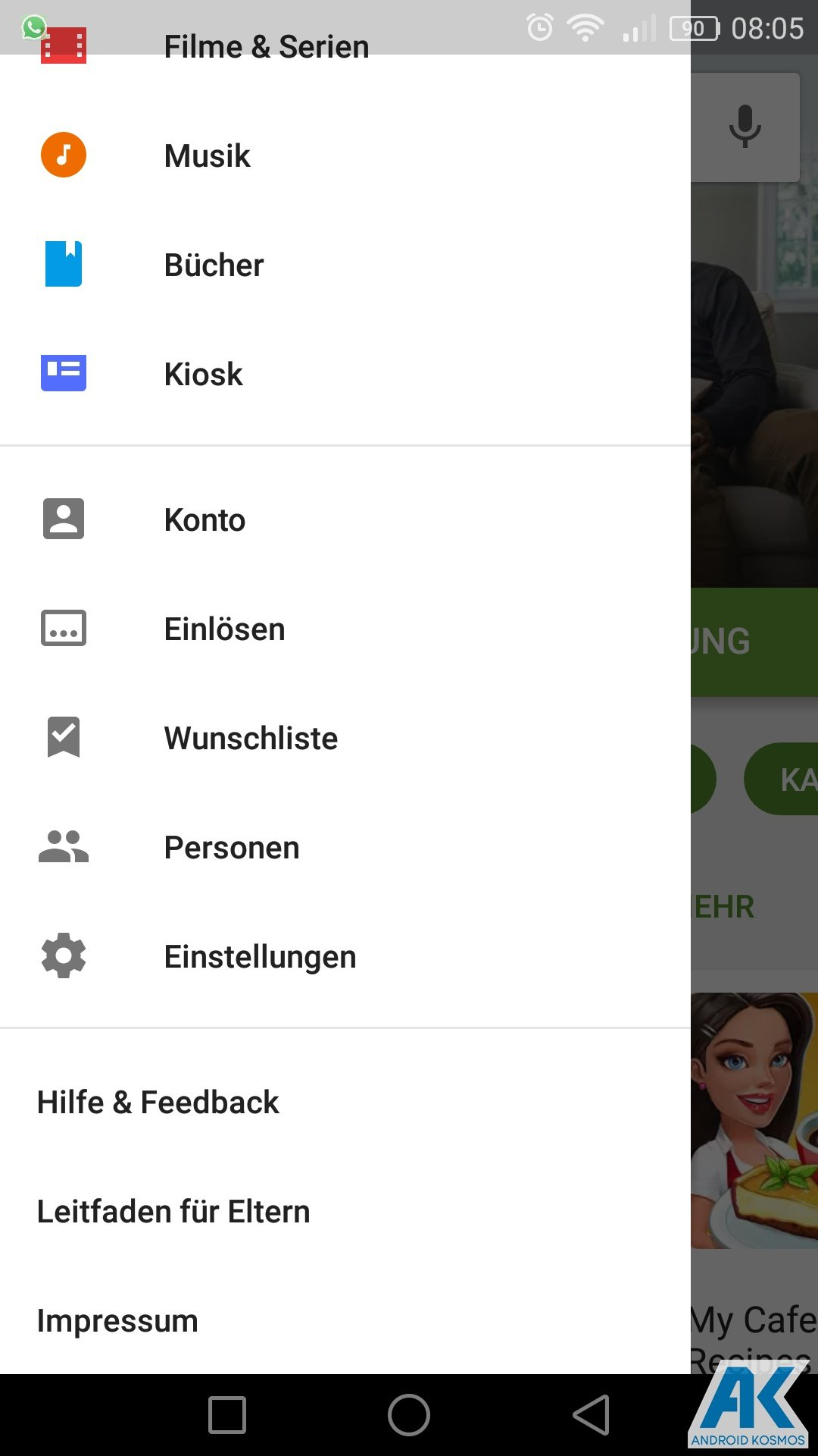 AndroidKosmos | Play Store: Family Library und neue Kategorien 10