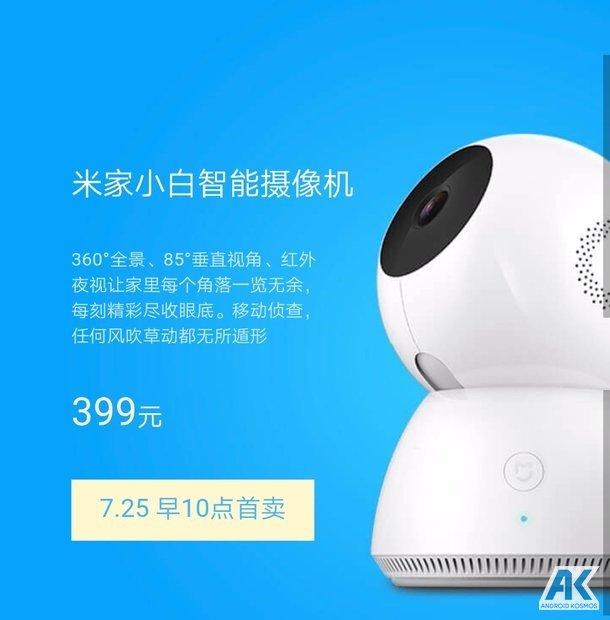 Xiaomi stellt eigene 360° Grad Kamera für 55 Euro vor 3
