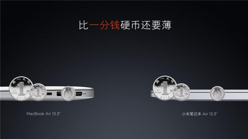 """Xiaomi """"Mi Air"""" Notebook 13,3 Zoll und 12,5 Zoll offiziell vorgestellt 5"""