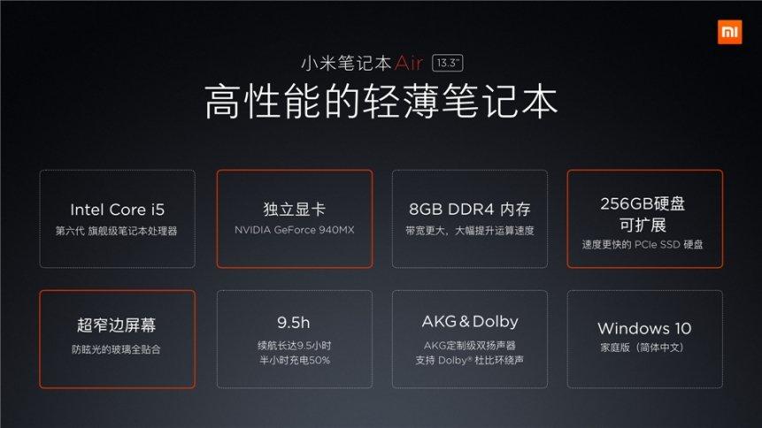 """Xiaomi """"Mi Air"""" Notebook 13,3 Zoll und 12,5 Zoll offiziell vorgestellt 37"""
