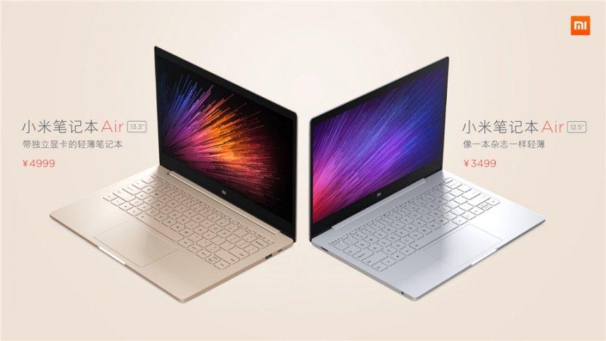 """Xiaomi """"Mi Air"""" Notebook 13,3 Zoll und 12,5 Zoll offiziell vorgestellt 30"""