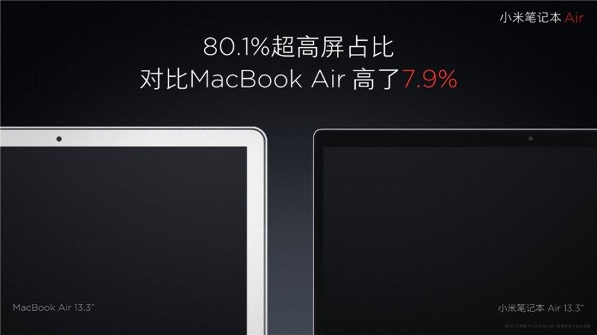 """Xiaomi """"Mi Air"""" Notebook 13,3 Zoll und 12,5 Zoll offiziell vorgestellt 7"""