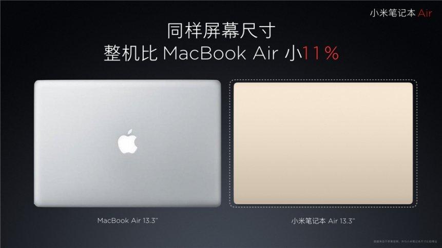 """Xiaomi """"Mi Air"""" Notebook 13,3 Zoll und 12,5 Zoll offiziell vorgestellt 8"""