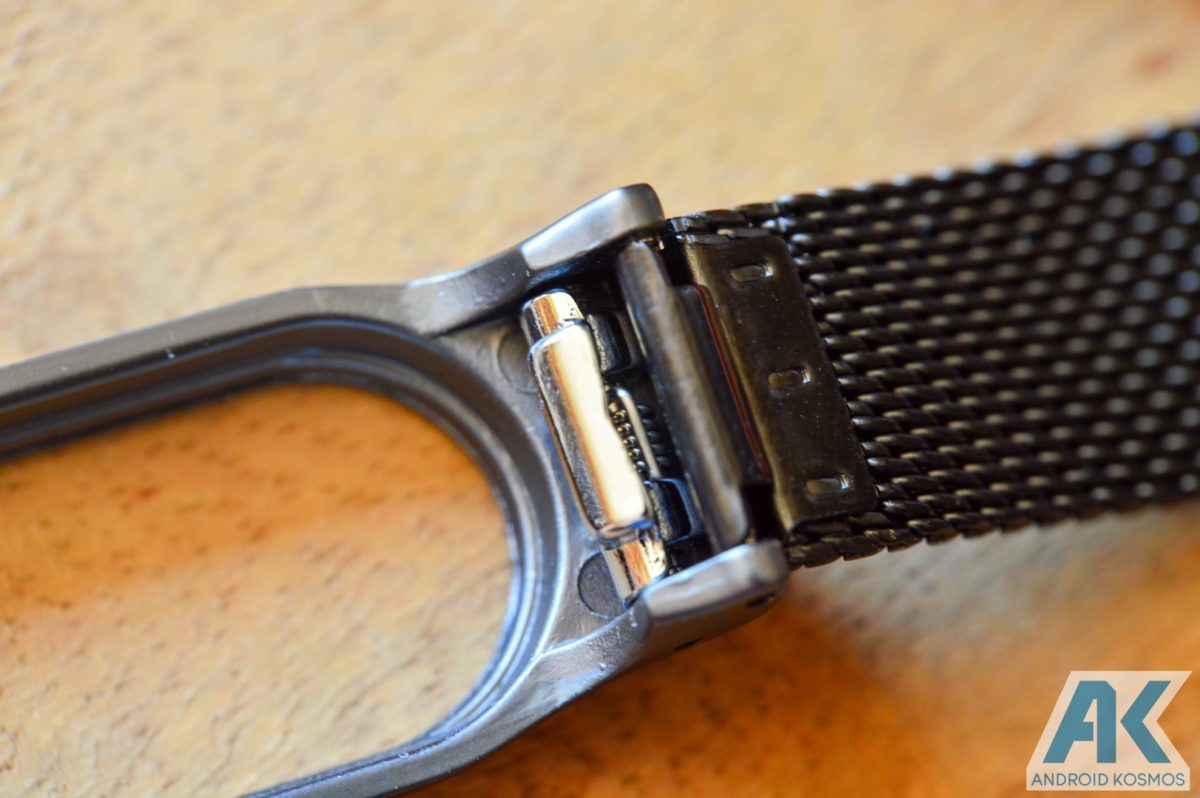 AndroidKosmos | Test / Review: Xiaomi Mi Band 2 Ersatzarmbänder aus Metall und Kunstleder 16