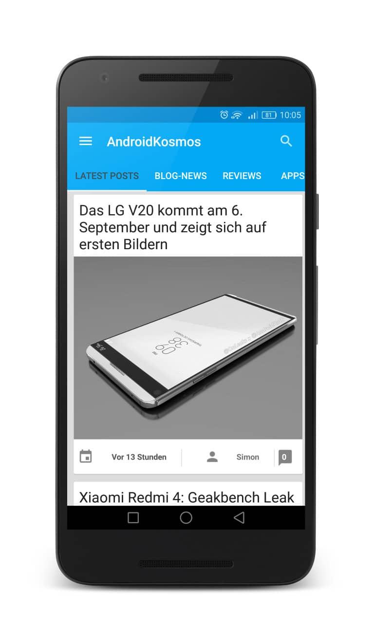 AndroidKosmos Free und Donate App ab sofort im Google Play Store verfügbar 8