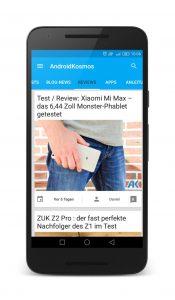 AndroidKosmos | AndroidKosmos Free und Donate App ab sofort im Google Play Store verfügbar 11