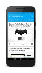 AndroidKosmos Free und Donate App ab sofort im Google Play Store verfügbar 12