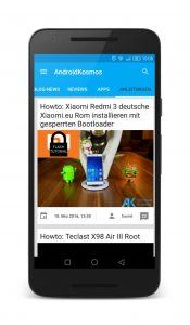 AndroidKosmos | AndroidKosmos Free und Donate App ab sofort im Google Play Store verfügbar 7