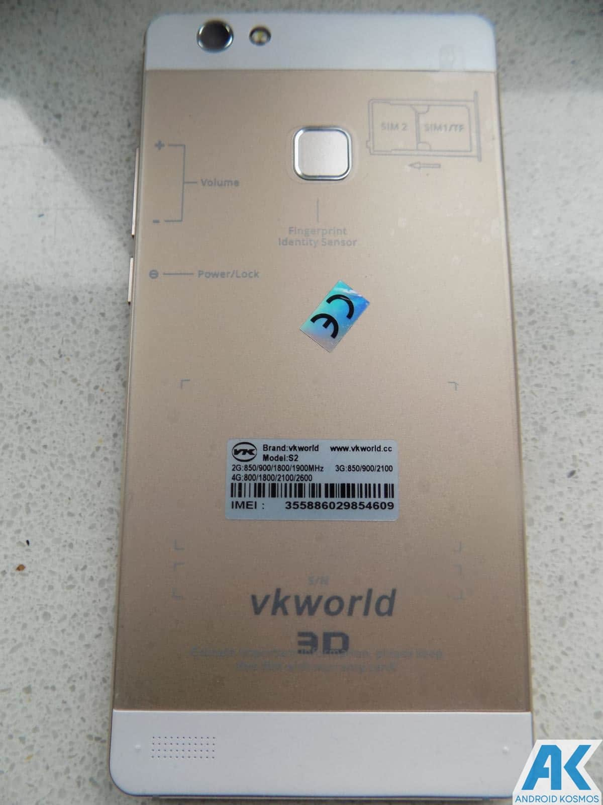 Test/Review: VKWorld Discovery S2  -  Smartphone mit 3D Display, geht das? 41