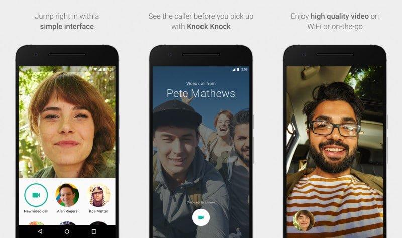 Google Duo: Videoteleonie App für Android ist gestartet 2