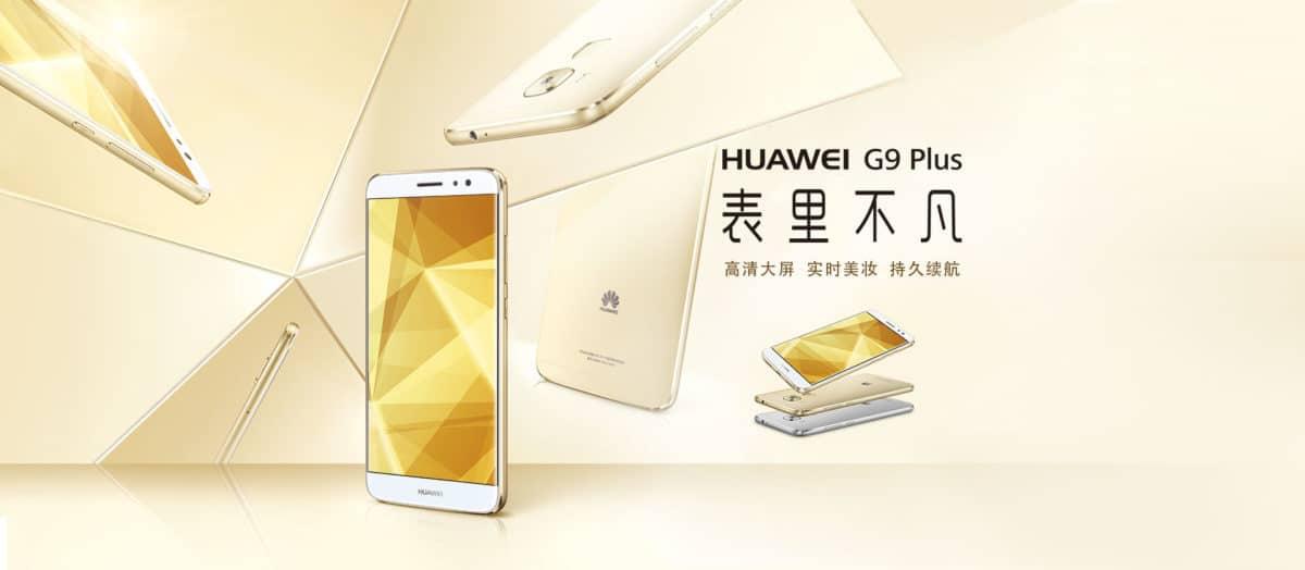 Huawei G9 Plus: 5,5 Zoll Smartphone mit Snapdragon 625 in China vorgestellt 1