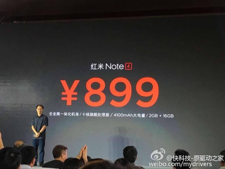 Xiaomi Redmi Note 4 mit Helio X20 und 64GB Speicher offiziell vorgestellt 7