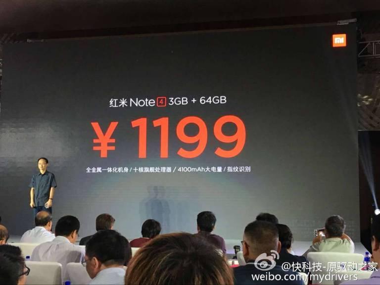 Xiaomi Redmi Note 4 mit Helio X20 und 64GB Speicher offiziell vorgestellt 8