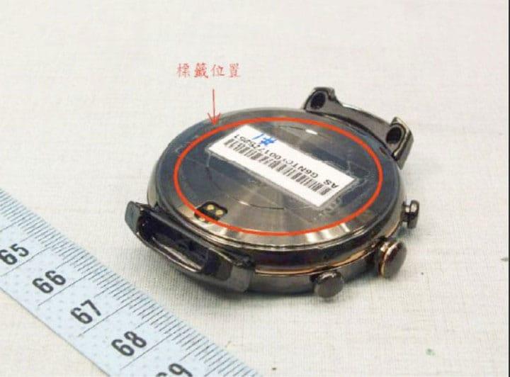ASUS ZenWatch 3: erste Fotos mit runden Gehäuse geleakt 3