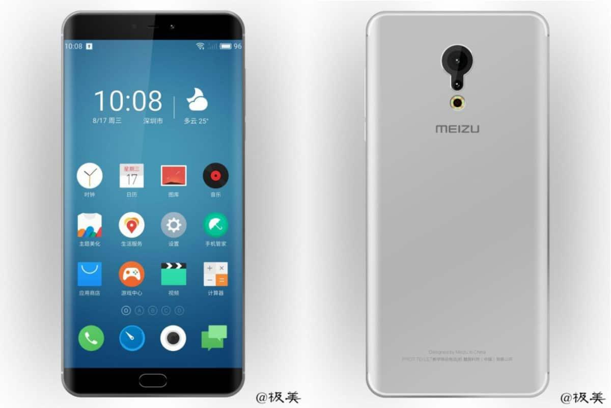 Meizu Pro 7: Erster Render zeigt abgerundete Ecken (EDGE) und Dual-Kamera 7