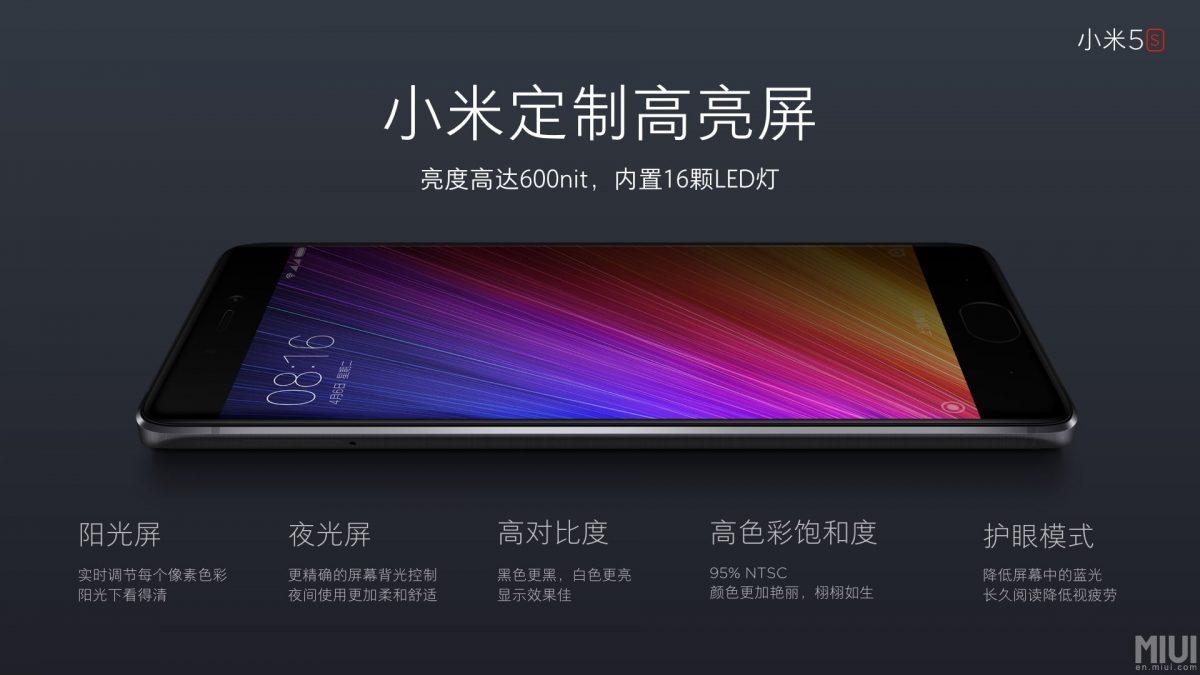 """Xiaomi Mi5s und Mi5s PLUS 5,7"""" Version mit Snapdragon 821 und Ultrasonic-Fingerabdruck vorgestellt 35"""
