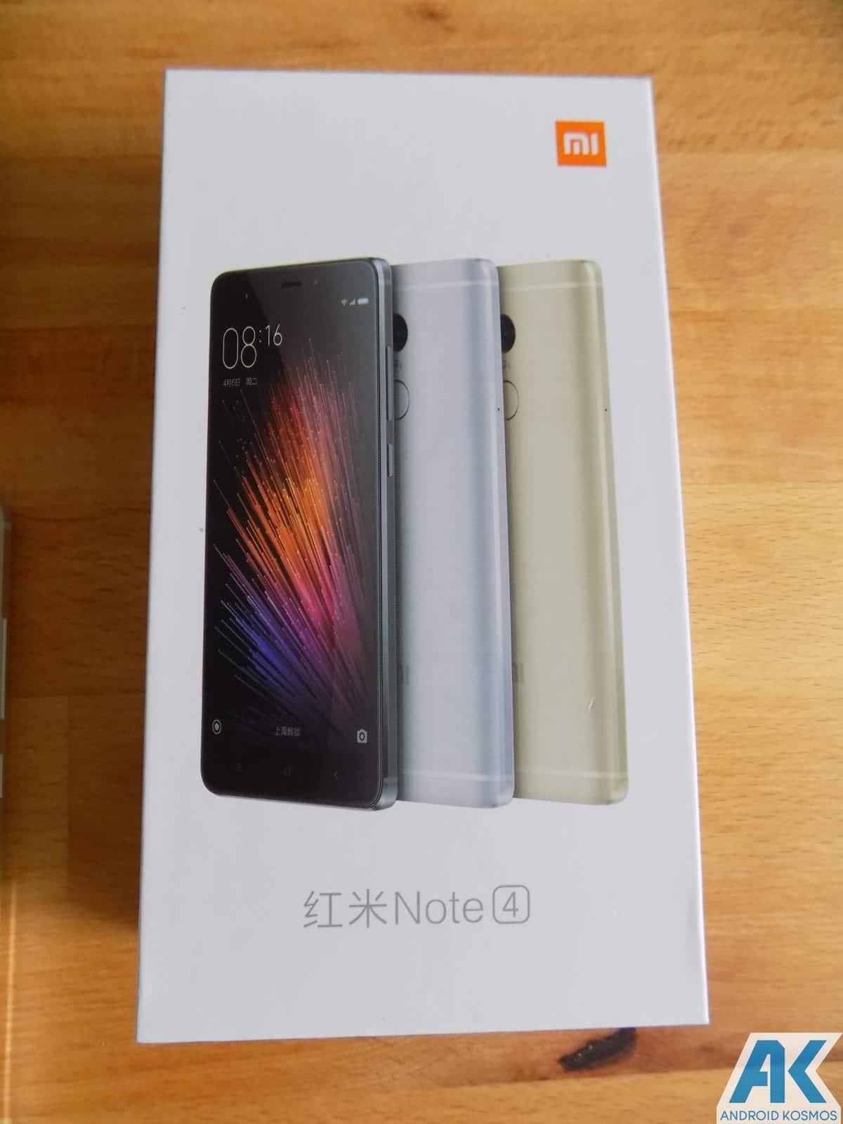 Verpackung Die Des Redmi Note 4 Pro Ist Xiaomi Ublich