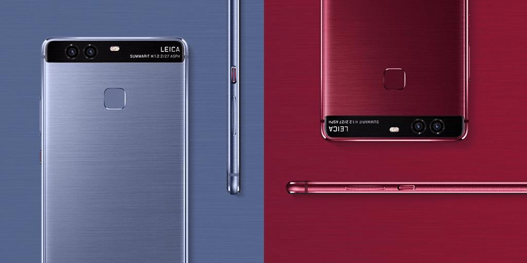 Huawei P9 gibt es bald auch in Rot und Blau zu kaufen 6