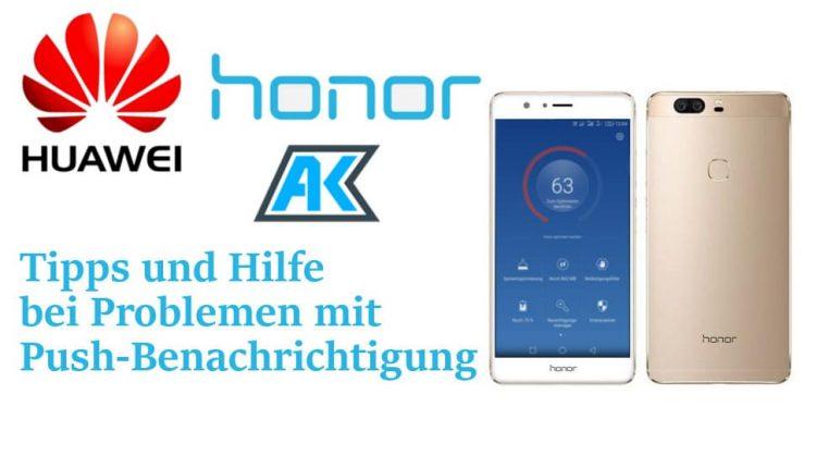 Huawei und Honor: Tipps bei Problemen mit den Benachrichtigungs-Diensten (Push) 33