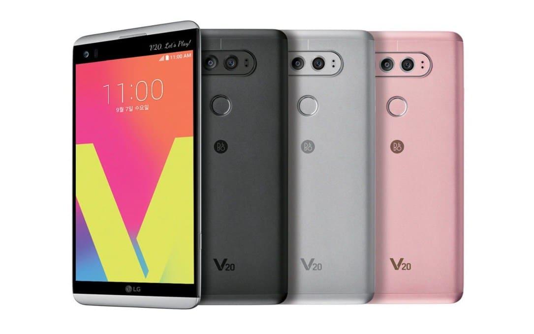 LG V20 Smartphone mit Android 7.0 Nougat offiziell vorgestellt 1