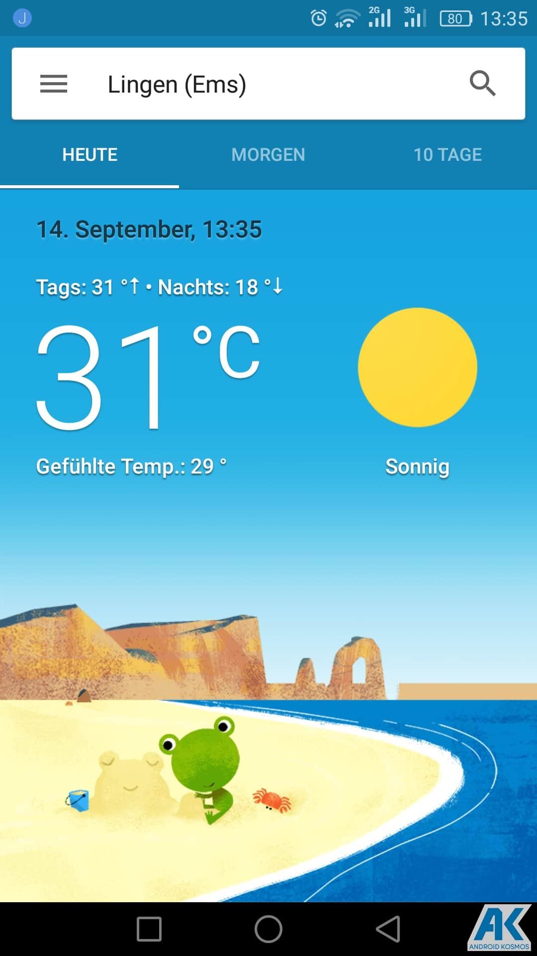 AndroidKosmos | Google Now Wetter-Karten jetzt auch für deutsche Nutzern verfügbar 6