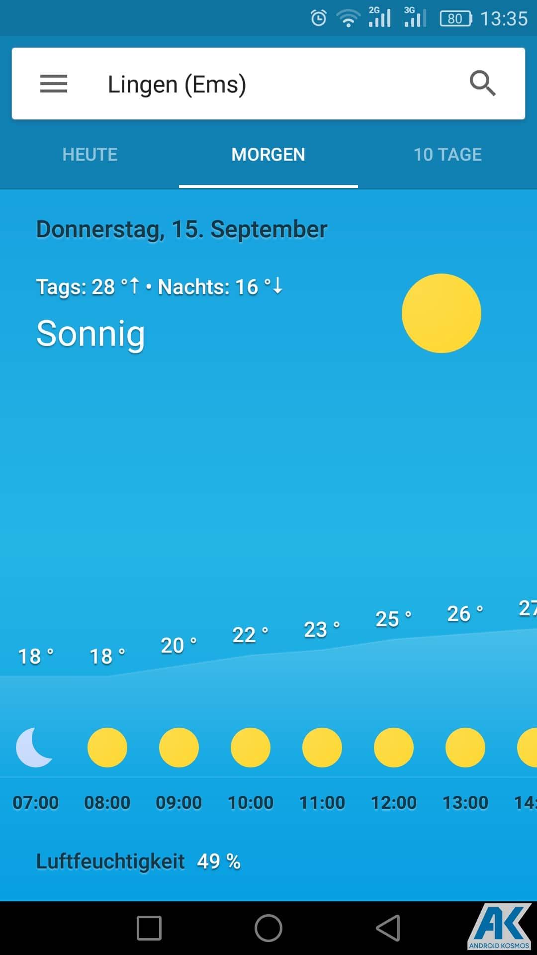 AndroidKosmos | Google Now Wetter-Karten jetzt auch für deutsche Nutzern verfügbar 7