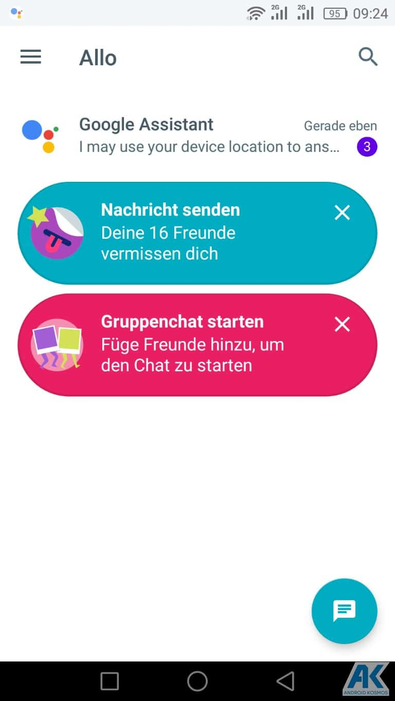 Google Allo: Messenger für Android ist gestartet 10