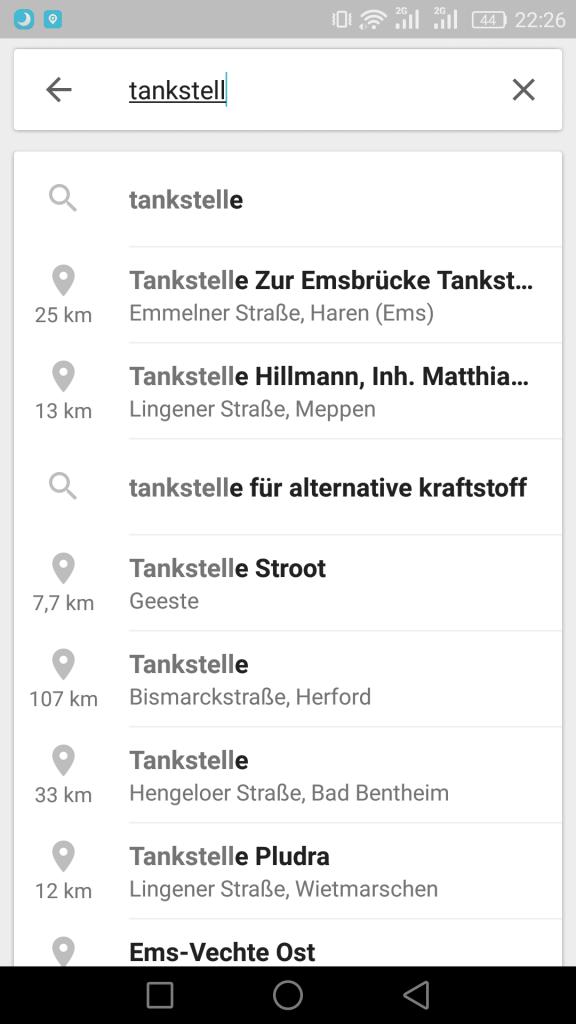 AndroidKosmos | Google Maps: Sprachbefehle, Kalendereinträge und diverse Änderungen 9