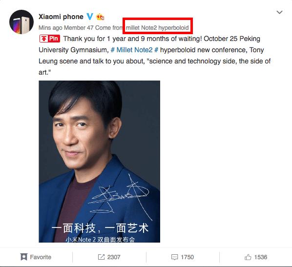 Xiaomi Mi Note 2: Erste Bilder, Infos und technischen Daten zum kommenden Flaggschiff 26