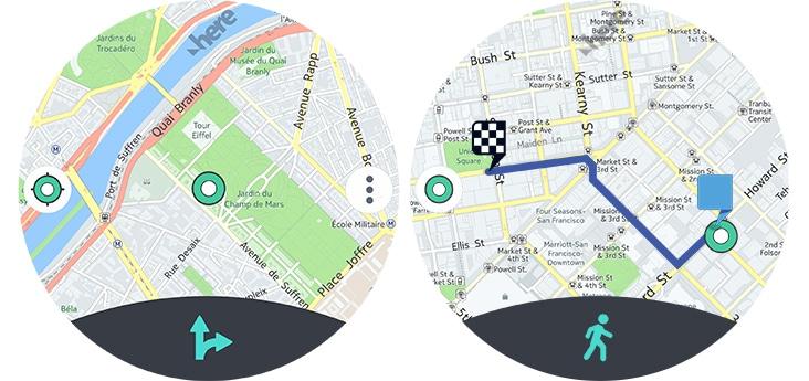 HERE WeGo: Navi-App für Gear S2 und Gear S3 wird eigenständiger 2