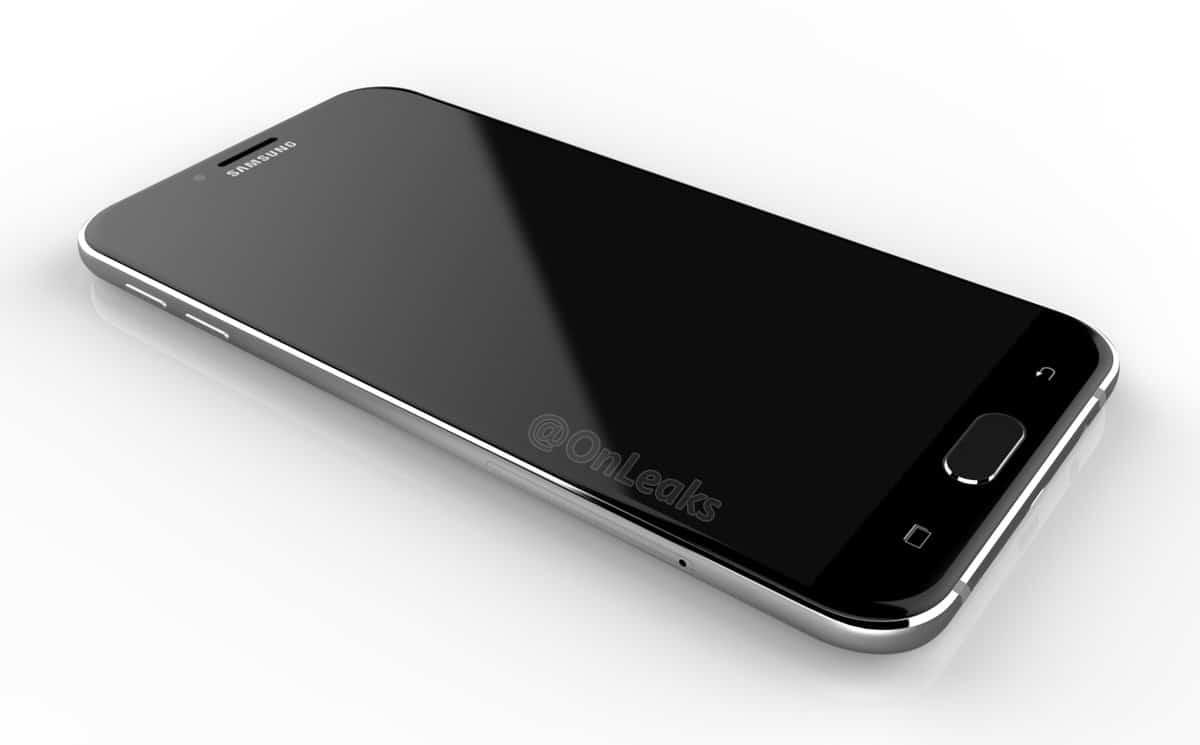 Samsung Galaxy A8: geleakte Bilder zeigen Smartphone aus Glas und Metall 1