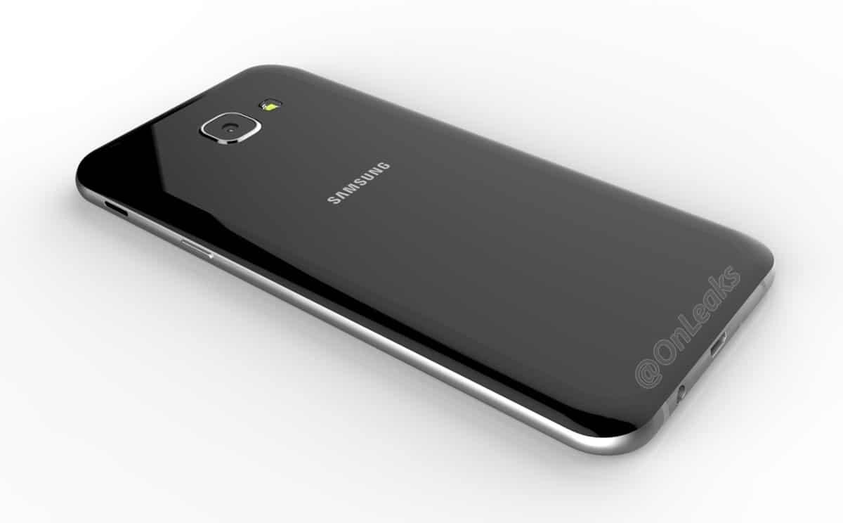 Samsung Galaxy A8: geleakte Bilder zeigen Smartphone aus Glas und Metall 2