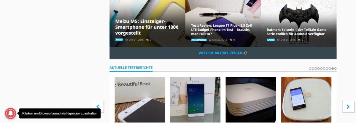 AndroidKosmos.de - Benachrichtigungen als Browser-Push einstellen 11