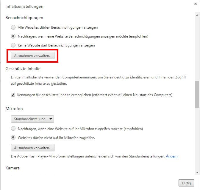 AndroidKosmos.de - Benachrichtigungen als Browser-Push einstellen 7
