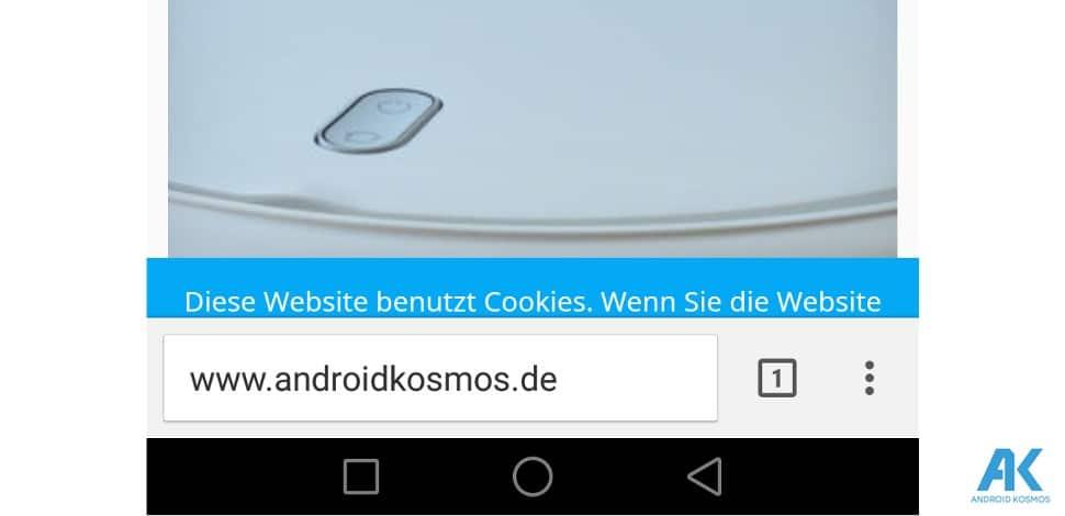 Chrome Browser: Adressleiste des Browsers wird bald nach unten verschoben 1