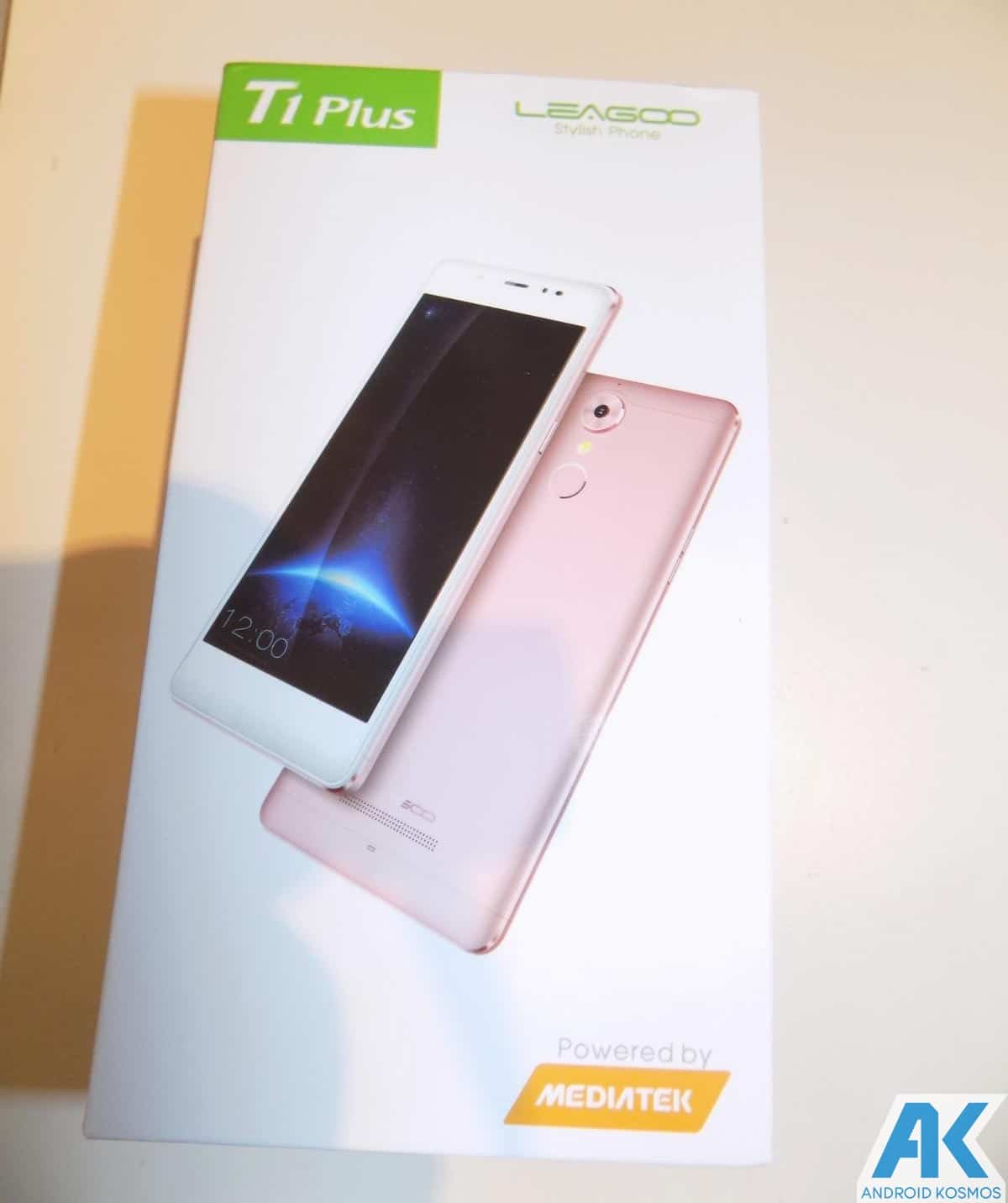 Test/Review: Leagoo T1 Plus - 5.5 Zoll LTE Budget Phone im Test - Braucht man FullHD? 3