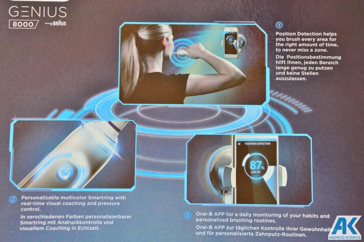 AndroidKosmos | Test / Review: Oral B Genius 8000 - eine appgesteuerte elektronische Zahnbürste 5