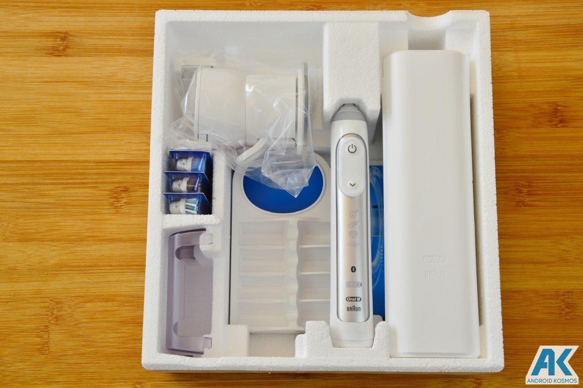 AndroidKosmos | Test / Review: Oral B Genius 8000 - eine appgesteuerte elektronische Zahnbürste 6