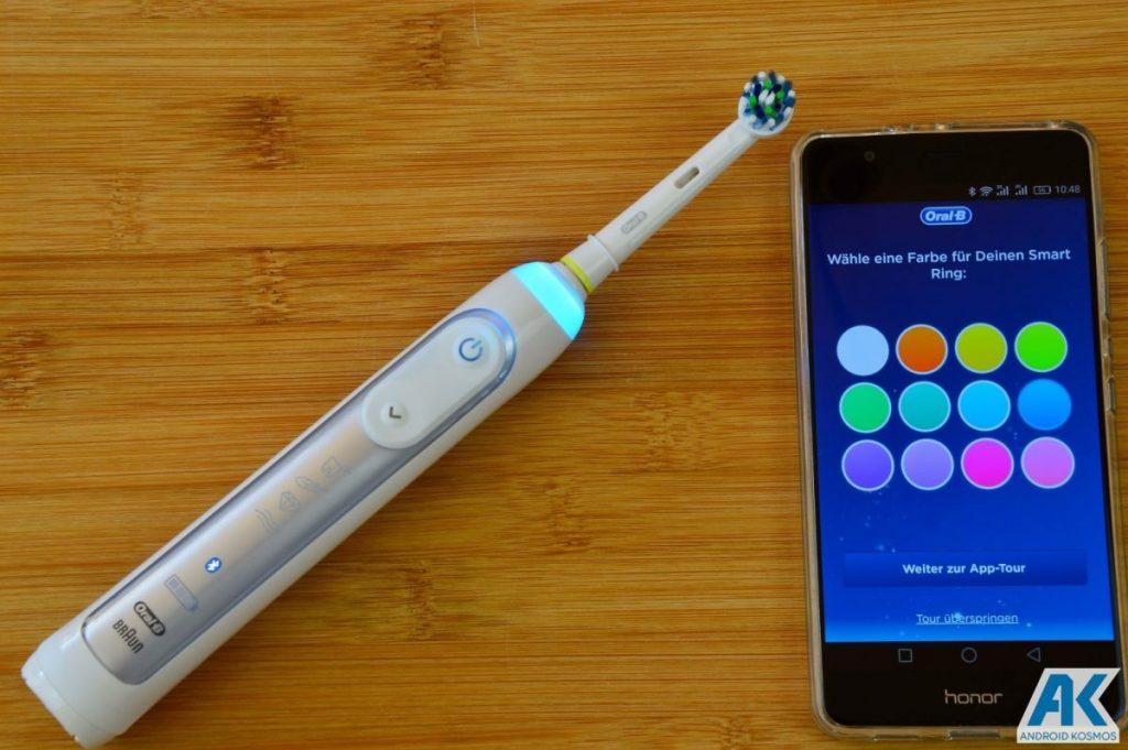 AndroidKosmos | Test / Review: Oral B Genius 8000 - eine appgesteuerte elektronische Zahnbürste 15