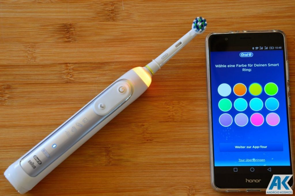 AndroidKosmos | Test / Review: Oral B Genius 8000 - eine appgesteuerte elektronische Zahnbürste 16