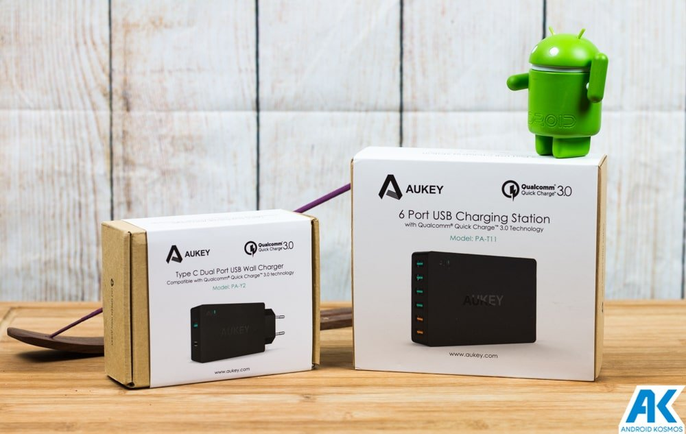Aukey Ladegeräte im Test: zwei Netzteile mit Quick-Charge Unterstützung 15