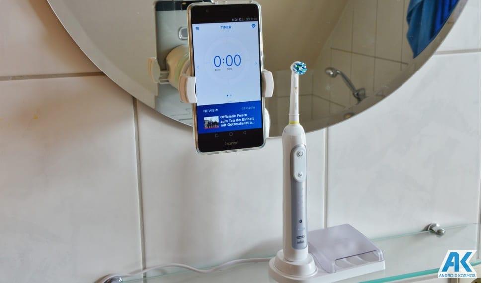 Test / Review: Oral B Genius 8000 - eine appgesteuerte elektronische Zahnbürste 2