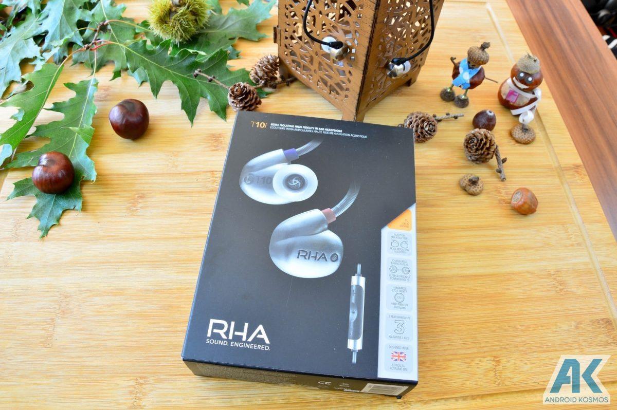 Test / Review: RHA T10i - In-Ear Kopfhörer mit austauschbaren Tuning-Filtern 1
