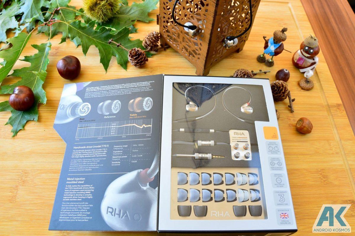 Test / Review: RHA T10i - In-Ear Kopfhörer mit austauschbaren Tuning-Filtern 3