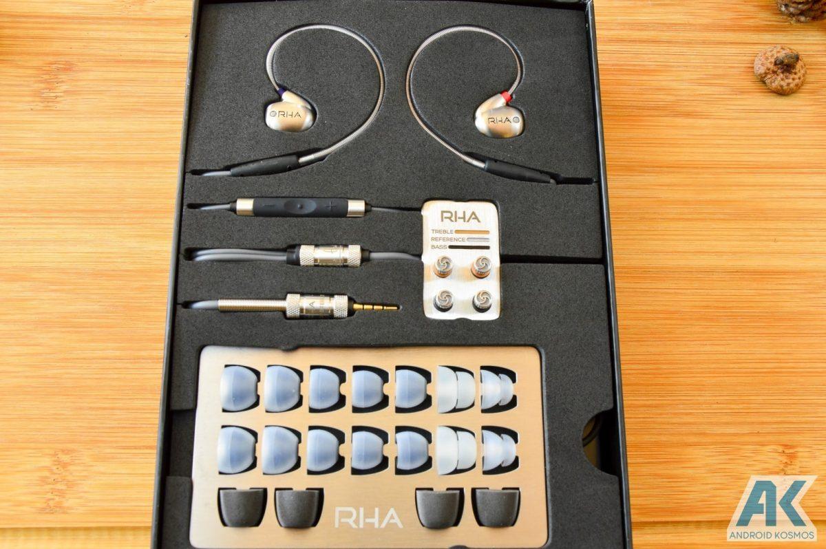 AndroidKosmos | Test / Review: RHA T10i - In-Ear Kopfhörer mit austauschbaren Tuning-Filtern 4