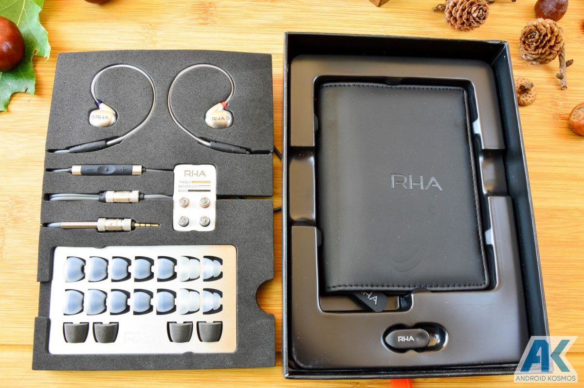 Test / Review: RHA T10i - In-Ear Kopfhörer mit austauschbaren Tuning-Filtern 5