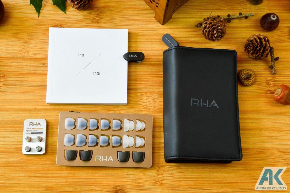 AndroidKosmos | Test / Review: RHA T10i - In-Ear Kopfhörer mit austauschbaren Tuning-Filtern 6