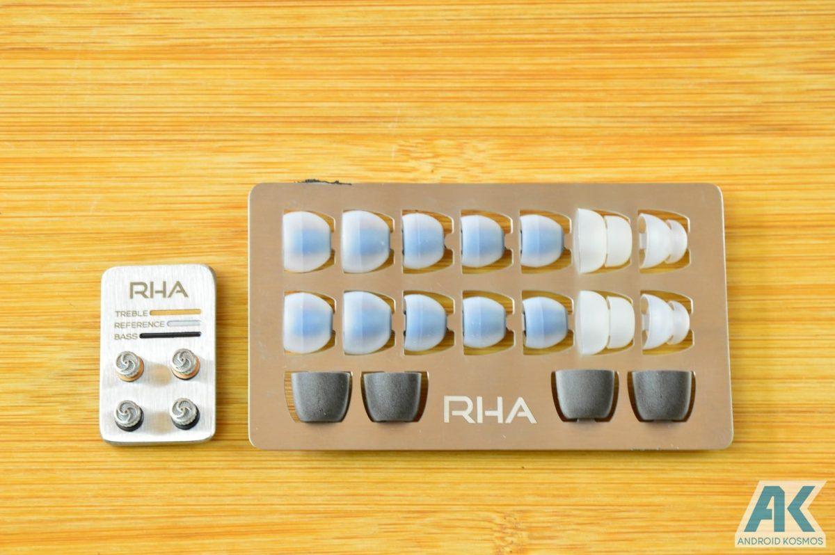 Test / Review: RHA T10i - In-Ear Kopfhörer mit austauschbaren Tuning-Filtern 7