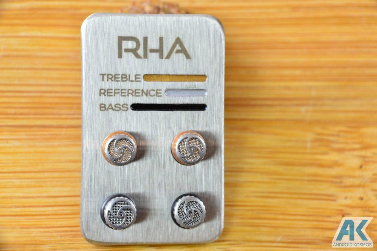 AndroidKosmos | Test / Review: RHA T10i - In-Ear Kopfhörer mit austauschbaren Tuning-Filtern 8